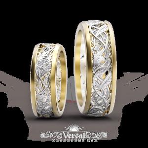 Эксклюзивные обручальные кольца с бриллиантами из платины и золота ... a0a97f6471936